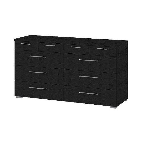 Dresser Tvilum Front Drawer Double Dresser - White ($420) ❤ liked