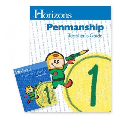 20% off Horizons Penmanship Curriculum