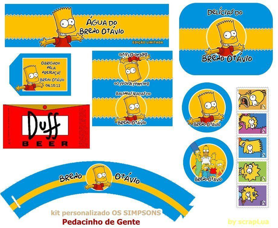 Petites Décos Pour Une Fête Sur Le Thème De Simpsons En 2019