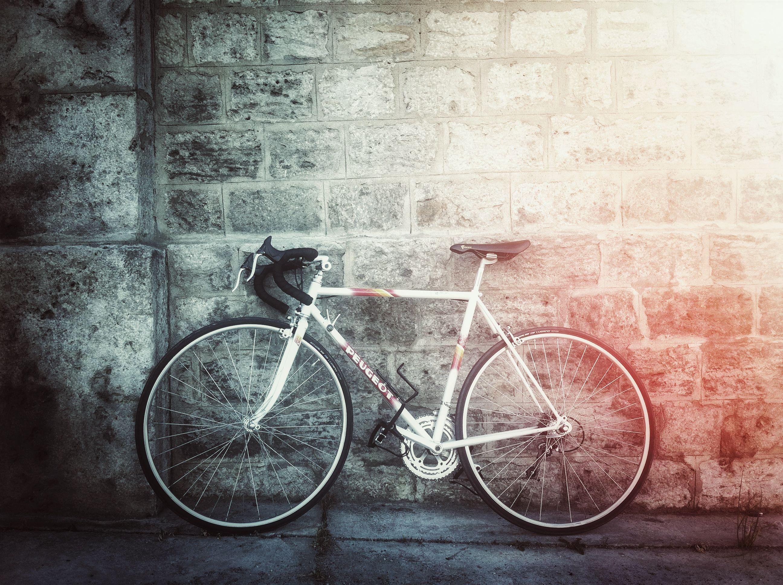 #retro #bike #peugeot no #fixie #bicycle