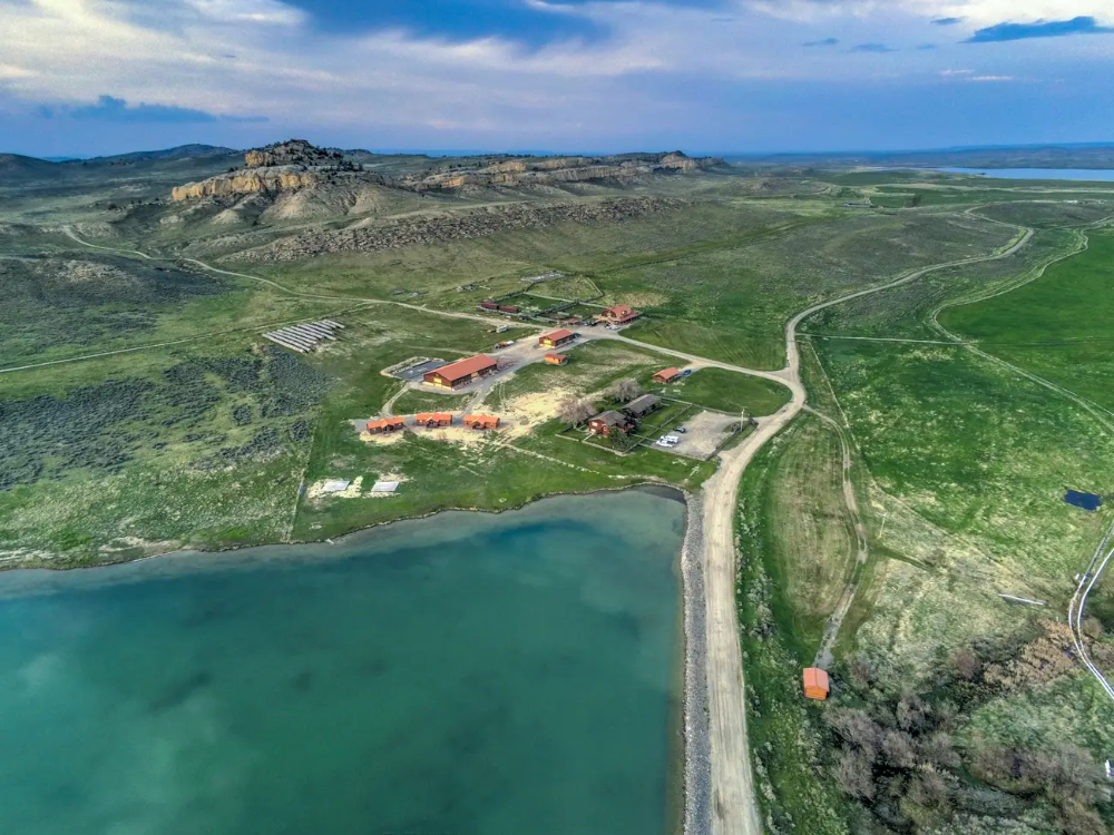 Kanye West Is Reportedly Building A 10 Bedroom Mansion And 2 Underground Garages On His 14 Million Wyoming Ranch Take A Look At The Sprawling Property He Boug Kim Kardashian And Kanye
