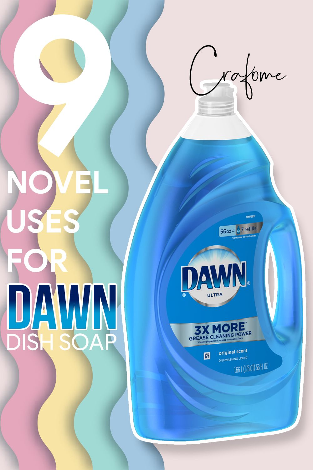 Can You Wash Your Dog With Dawn Dish Detergent 9 Novel Uses For Dawn Dish Soap Crafome Dawn Dish Soap Dish Soap Bottle Cleaning