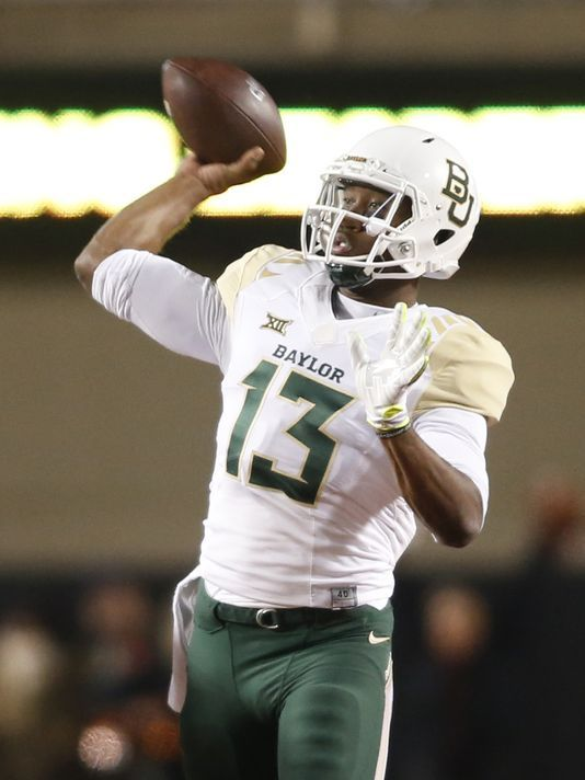 Baylor Has Two Way Scheme And Three Deep Qb System To Beat Anyone Baylor Ncaa Football College Football Playoff