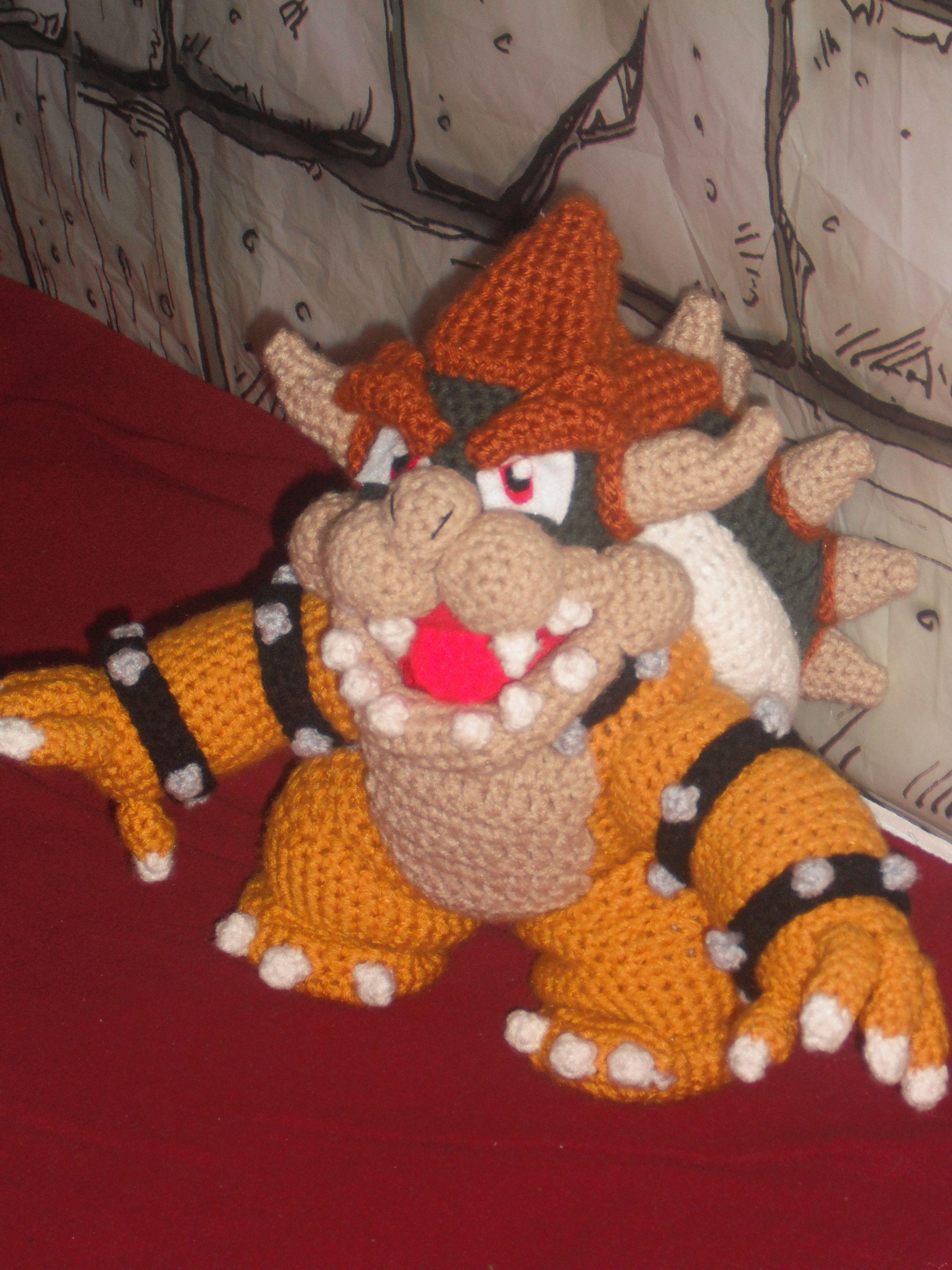 Bowser | Pinterest | Free pattern, Patterns and Crochet