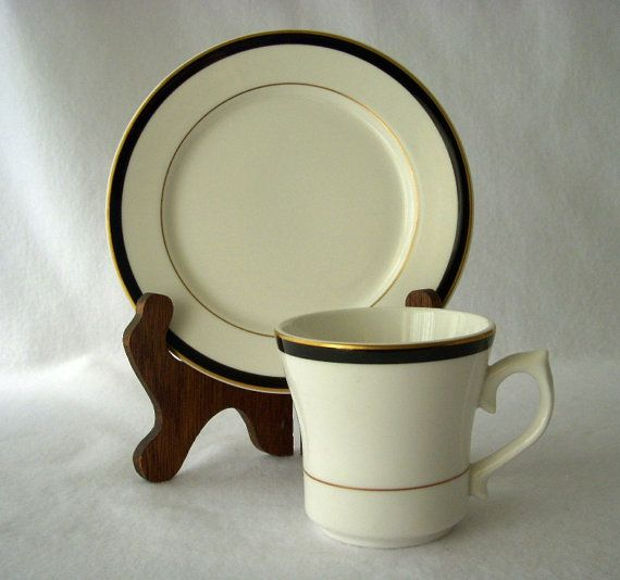Vintage Dudson Porcelain China 24 Pc Coffee Cups and Dessert Plates ...