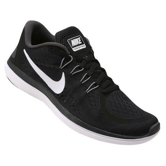 Tênis Nike Flex Run Masculino - Preto e Branco