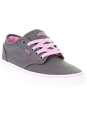 63781d6aec56 Vans Canvas-Pewter-Orchid Atwood Womens Low Top Shoe