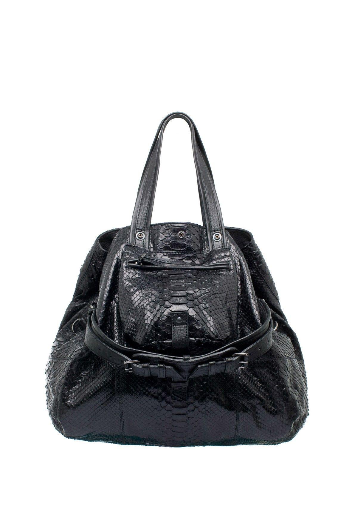 b792270601 Billy M Python et Veau Noir - JEROME DREYFUSS | Fashion | Jerome ...