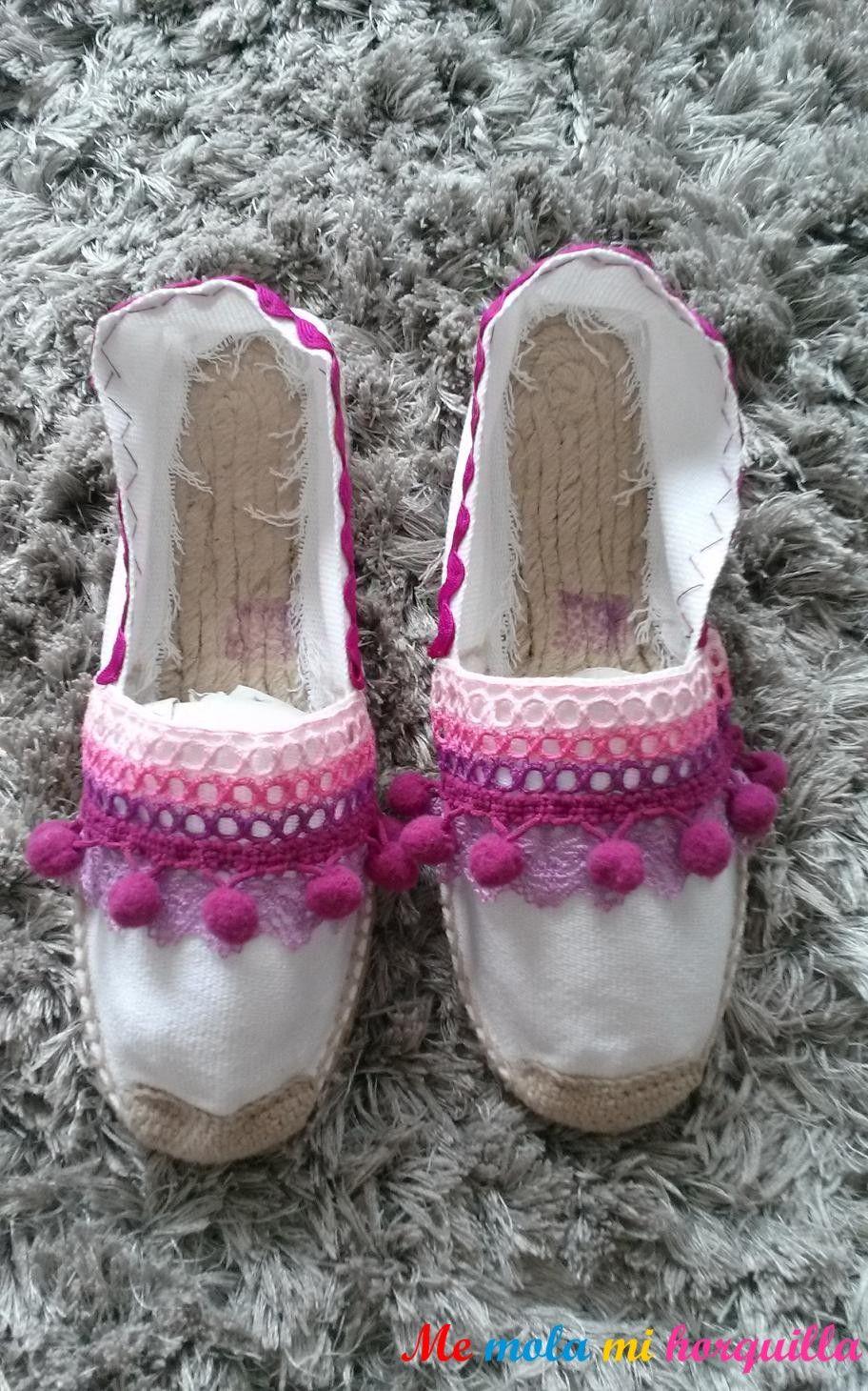 Alpargatas de esparto decoradas para ni o y ni a varios colores y modelos zapatillas - Alpargatas de esparto ...
