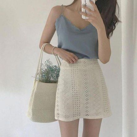 4 dress Korean skirts ideas