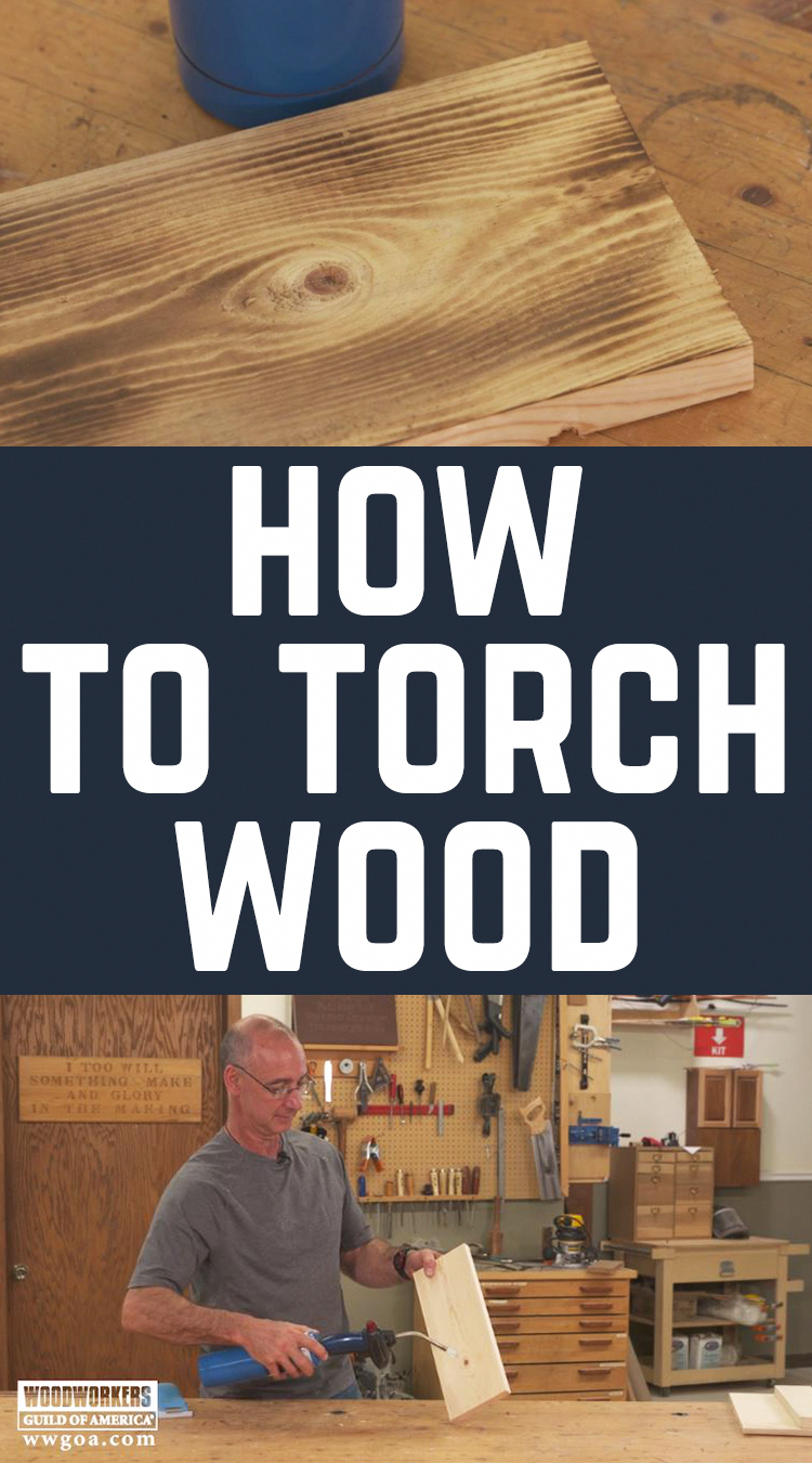 Everything Old Becomes New Again For Instance Using A Propane Torch To Char The Surface Of A Piece Of Wood Torch Wood Popular Woodworking Burnt Wood Finish