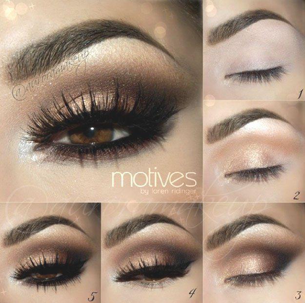 Photo of Rauchiges Auge aus Gold – Makeup İdeas