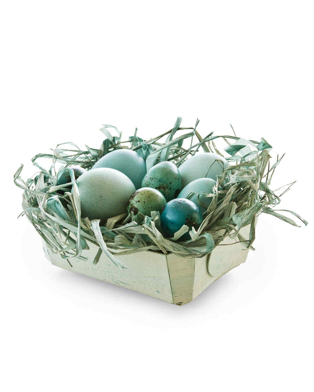 dyed easter baskets martha stewart living why should eggs have all the fun decorating - One Stop Decorating