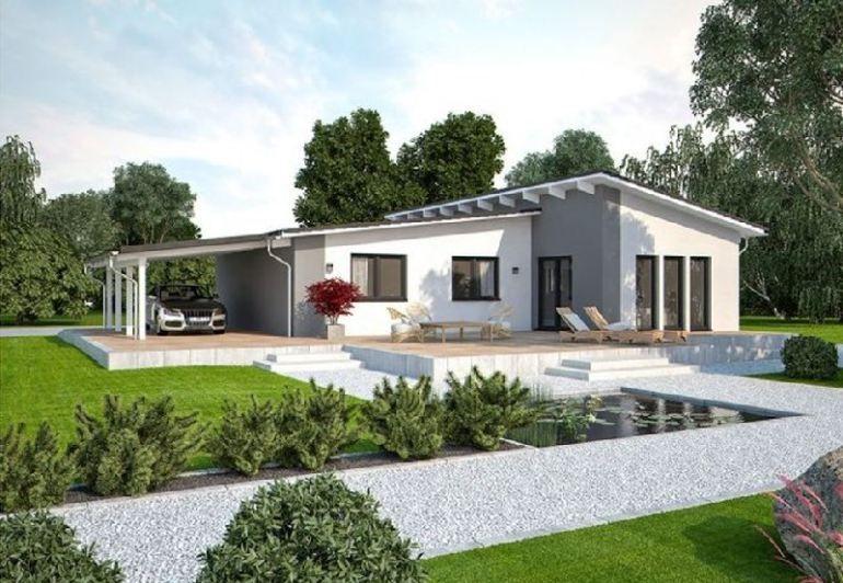 Model casa LIFE 110 L Walmdach, Suprafata 108 mp, 3 camere ...