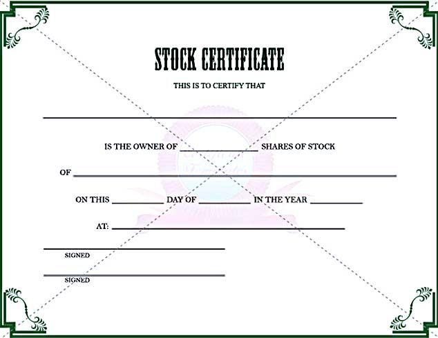 stock certificate template to in pdf printable stock certificate template free in word and pdf stock certificate template can easily be found there for