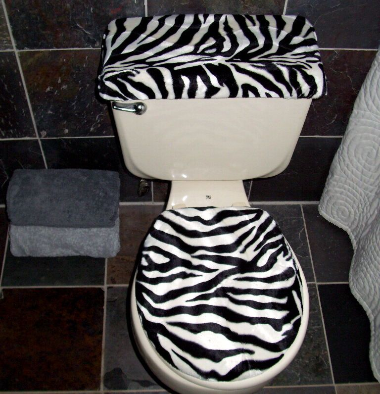 Animal Print Bathroom