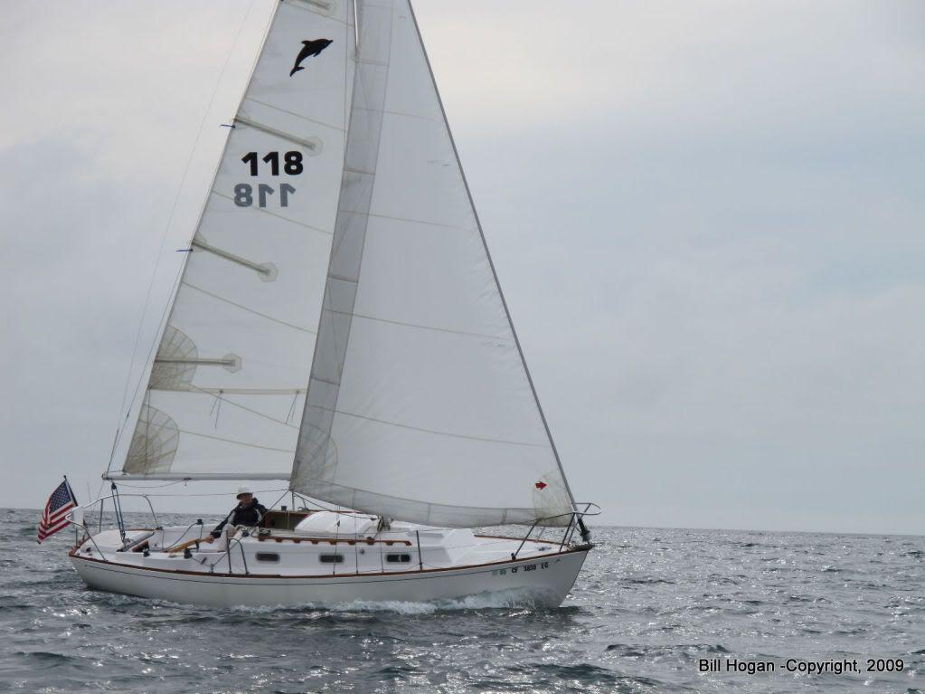 Dolphin 24 Forum Yankee 118 Under Sail Sailing
