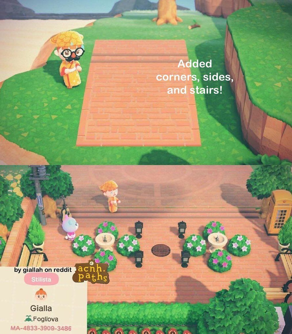 Animal Crossing Patterns On Instagram Another Plaza Stone Credit Giallah On Reddit T In 2020 Animal Crossing Funny Animal Crossing Animal Crossing Wild World
