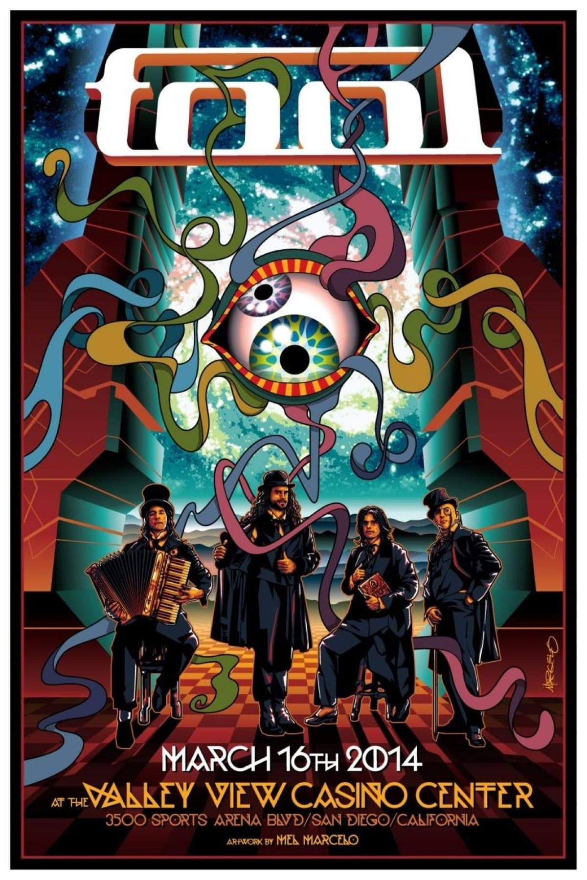 Tool Poster 13 By 19 In 2020 Tool Artwork Concert Posters Tool Music