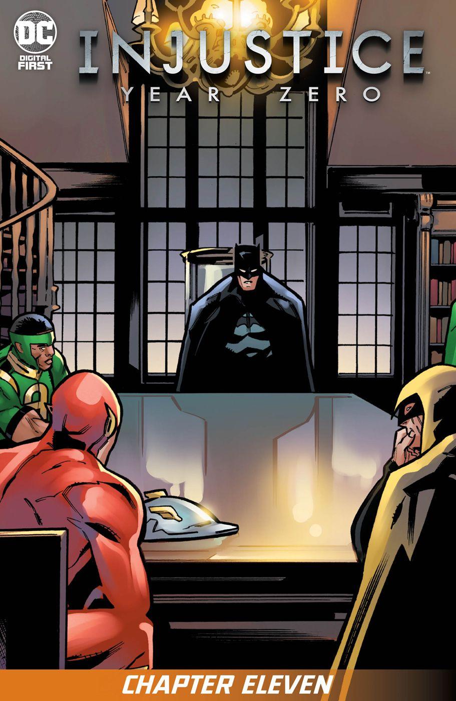 Injustice Year Zero 11 Injustice Justice League Dark Dc Comic Books