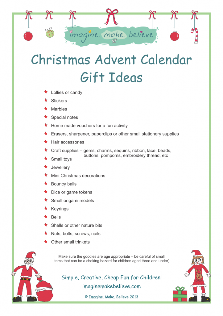 Christmas Advent Calendar Gift Ideas | Advent calendars, Gift and ...