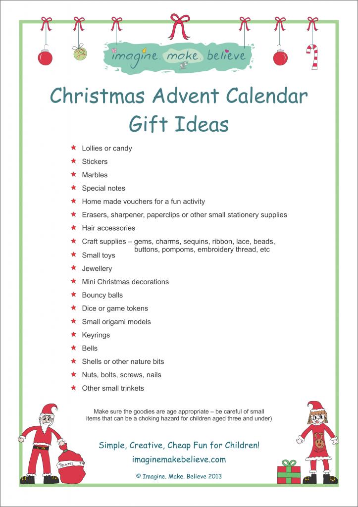 Christmas Advent Calendar Gift Ideas | Advent calendars, Gift and ...