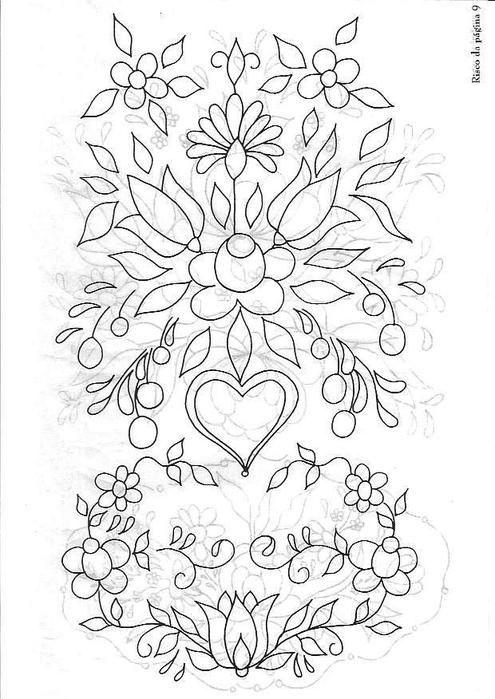 galleryru  photo  19  motifs de fleurs bauernmalerei