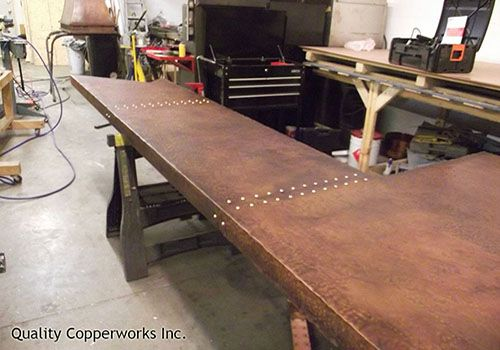 Quality Copperworks Is A Full Service Copper Fabrication Facility That Can  Take Your Custom Design