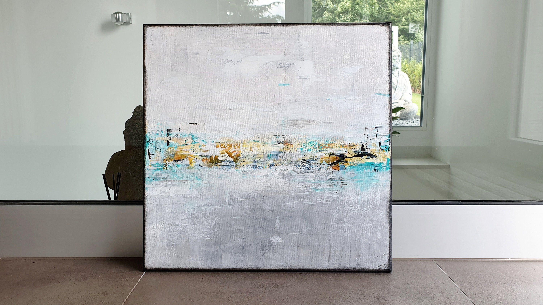 a traub malerei 50x50 cm acryl auf leinwand kunst modern etsy bild drucken günstig panorama