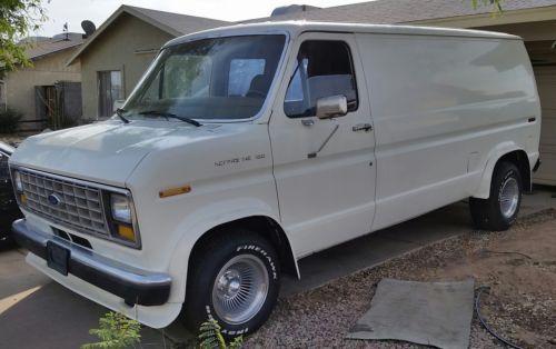 1988 Ford E Series Van 100 Rust Free 70s Style Custom Van