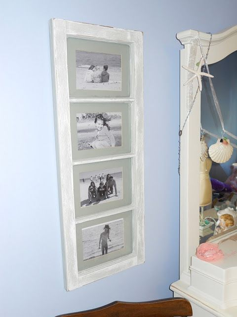 Window pane picture frames. | For the Home | Pinterest ...