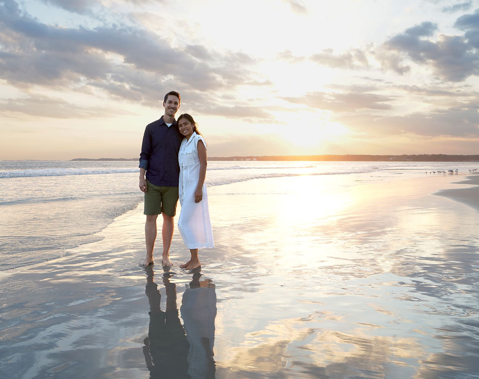 Sunset Beach Engagement In 2020