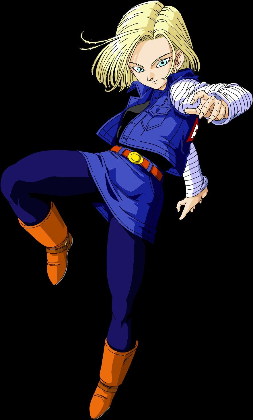 Pin on DBZ android18