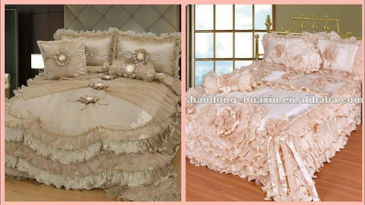 Beautiful Top Class Designer Bed Sheets Designs   Bridal Bed Sheets Ideas   Link In  Description Https