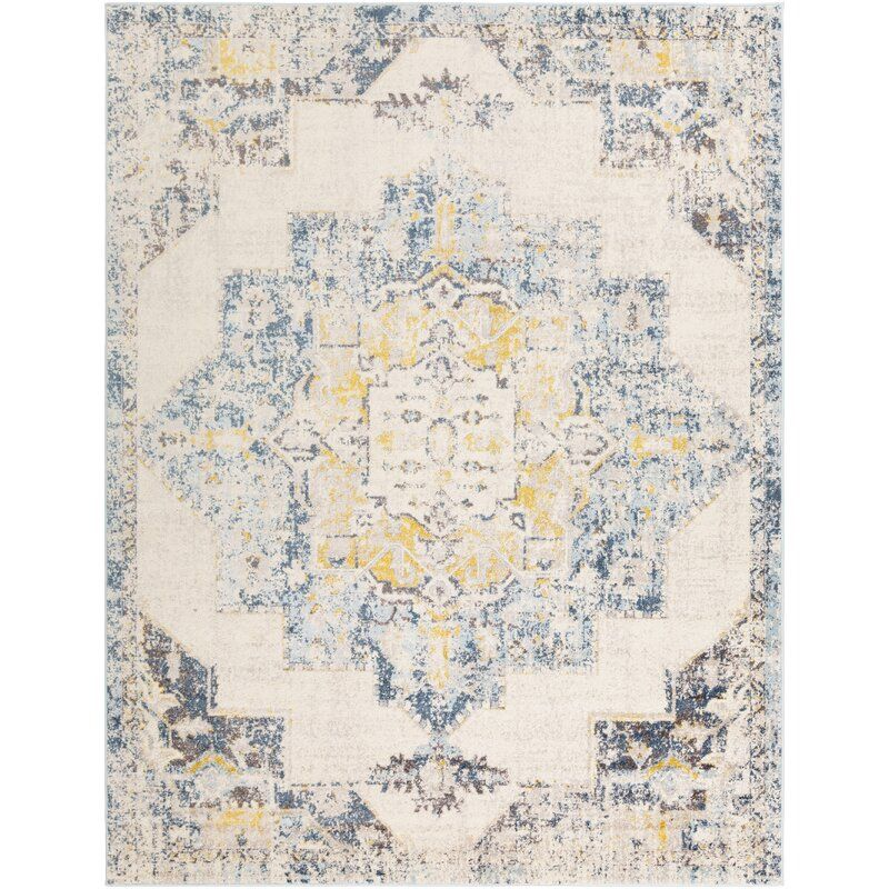 Christmas Distressed Bright Yellow Area Rug In 2020 Yellow Area Rugs Area Rugs Rugs