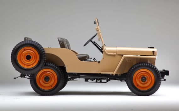 1945 Jeep Cj2a Classic Drive Motor Trend Vintage Jeep Willys