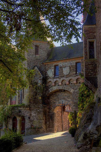 ARCHITECTURE – Medieval, Reichsburg Castle, Germany photo ...
