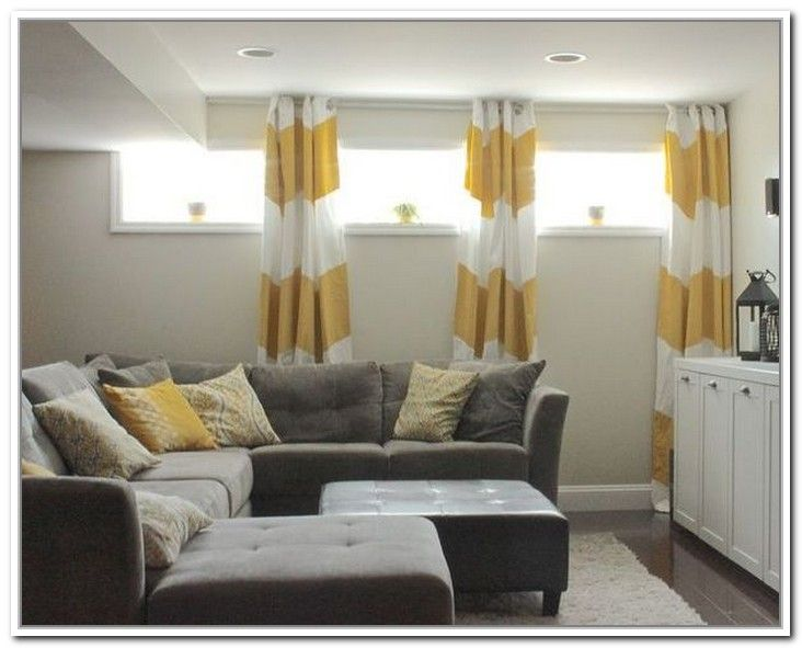 Curtains For Short Windows Google Search Basement Windows Basement Window Curtains Basement Window Treatments