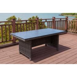 Photo of Reduced poly rattan tables