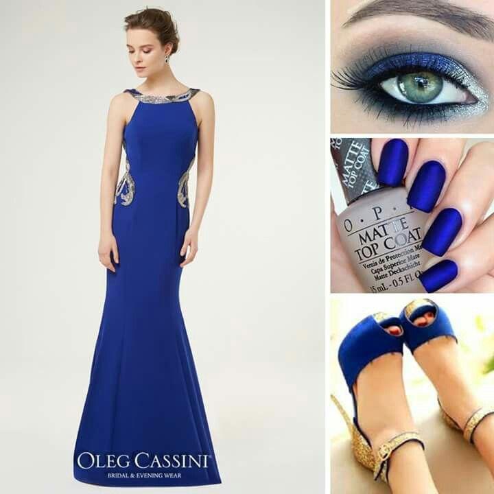 d4fef4d6d4a18 Taş işlemeli, Alfa Beta tasarımı saks mavisi abiye elbise ile davetlerde  şıklığınızı konuşturun! Abiye