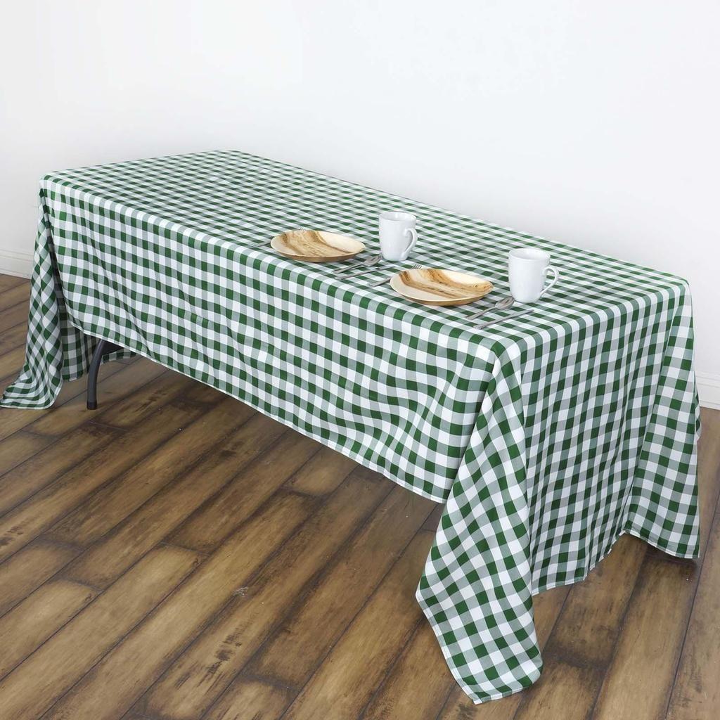 Buffalo Plaid Tablecloth 60x102 Quot Rectangular White