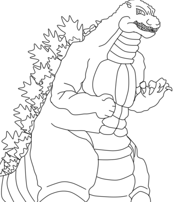Godzilla 2 Coloring Pages Cartoon Coloring Pages Coloring Pages Coloring Pages To Print