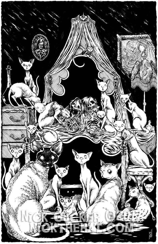 The Cats of Ulthar Gatos, Mitología
