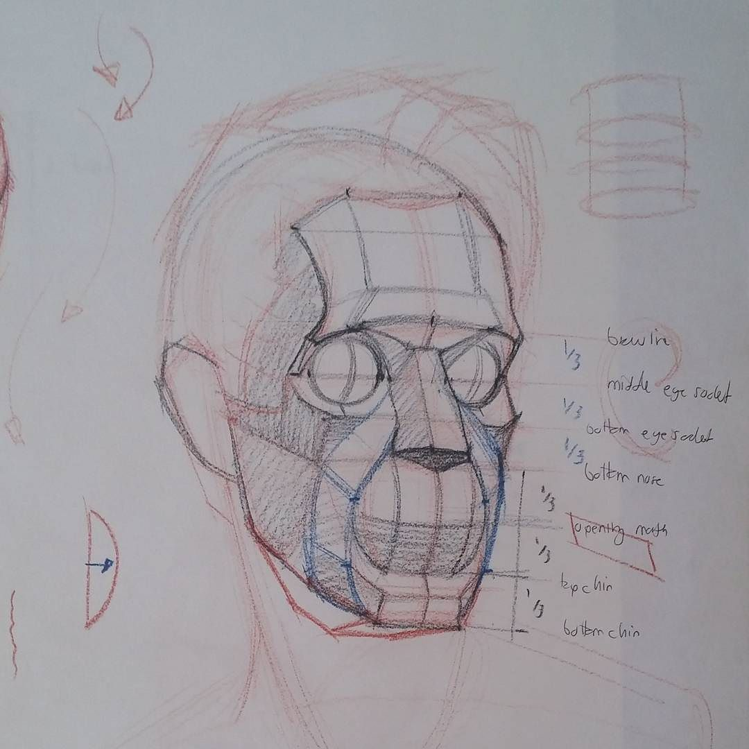 Head chat #art #artist #figure #drawing #lifedrawing #anatomy ...