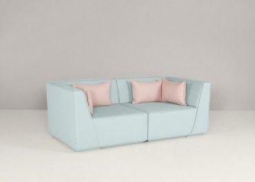 Un Canape 2 Places Confortable Grace A L Assise Haute Deco De