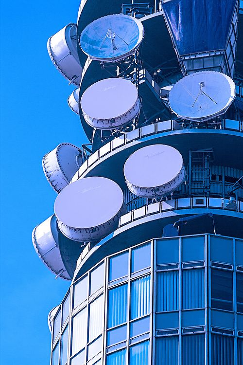 Telecommunication Room Design: David Henderson Photography
