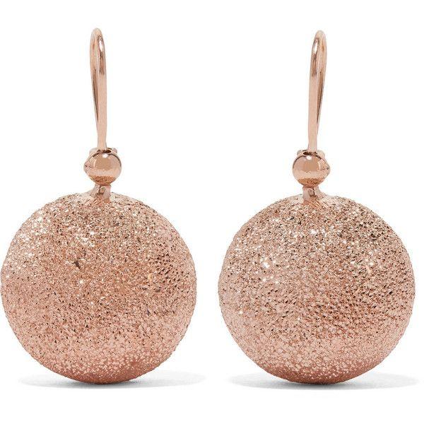 Carolina Bucci Mirador 18-karat Rose Gold Hoop Earrings qU4UEfrB