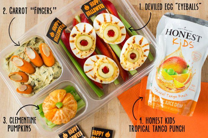 Spooky Halloween Lunchbox Ideas Honest Kids Giveaway