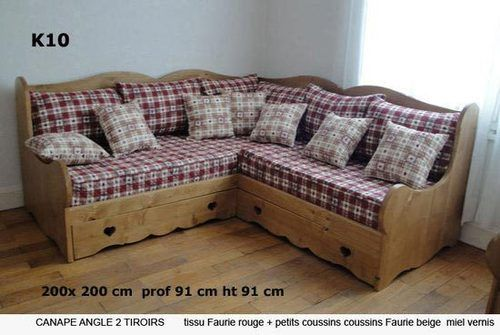 Canape Bed Express Canape Rapido Canape Convertible Bois Canape Couchage Concertible Deco Montagne Deco Canape Fauteuil