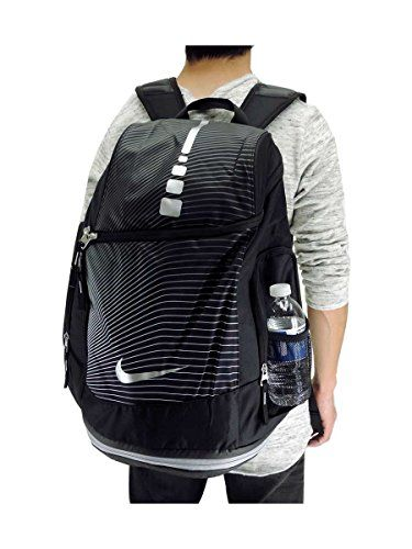 50b6e8fb1469 Nike Hoops Elite Max Air Graphic Basketball Backpack Black ...